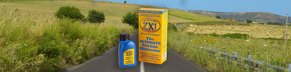 EXTRALUBE ZX1 Micro Oil Metal Treatment is a Friction Eliminator that makes engines work more efficiently.